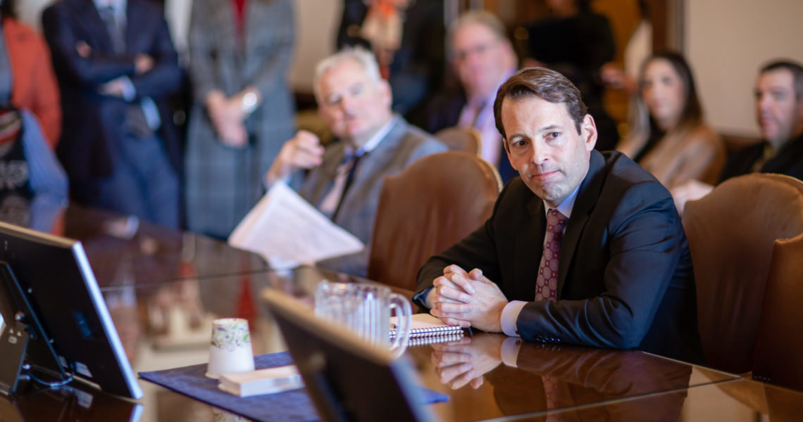 """Senate Majority Leader Andy Billig calls on Rep. Walsh to apologize and """"educate himself about the history of the Holocaust and Jim Crow laws"""""""