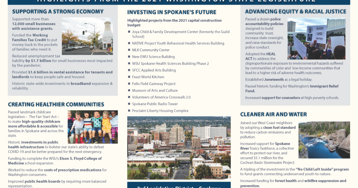 Highlights from the 2021 Washington State Legislature