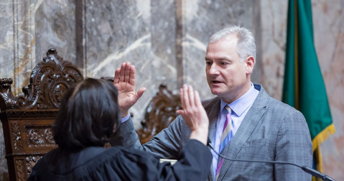 Carlyle appointed, sworn in to represent 36th LD as Senator