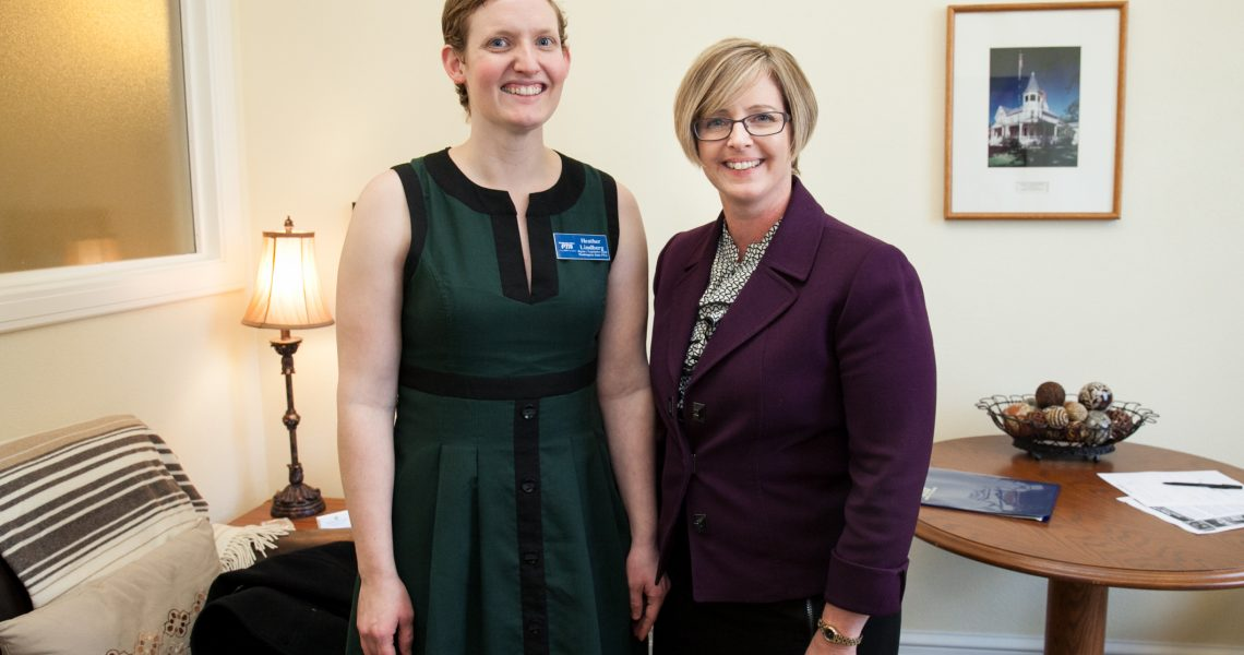 Cleveland meets with PTA Region 3 Legislative Chair