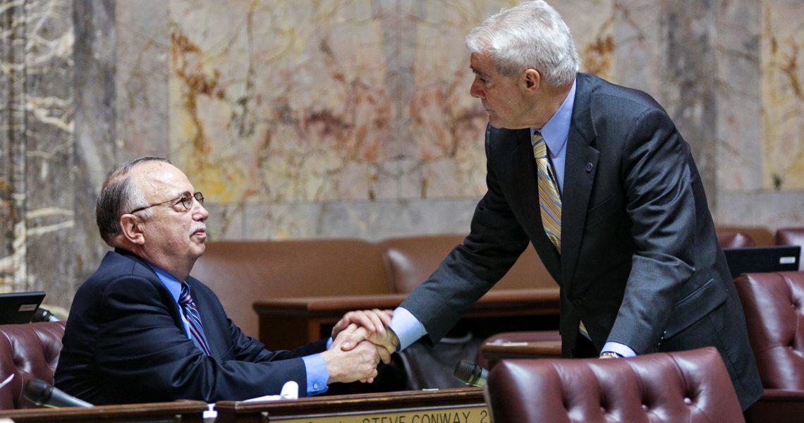 VIDEO: Sen. Conway remembers Sen. Mike Carrell