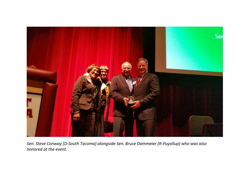 Conway receives award from developmental disabilities coalition