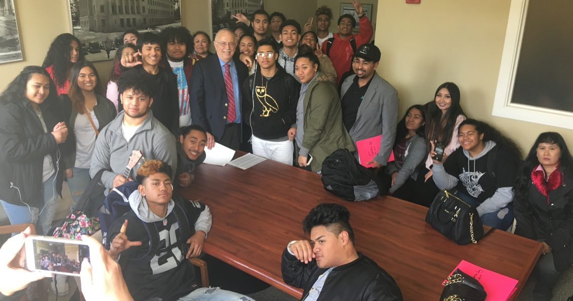 Conway meets with constituents supporting Tacoma's Asian Pacific Cultural Center