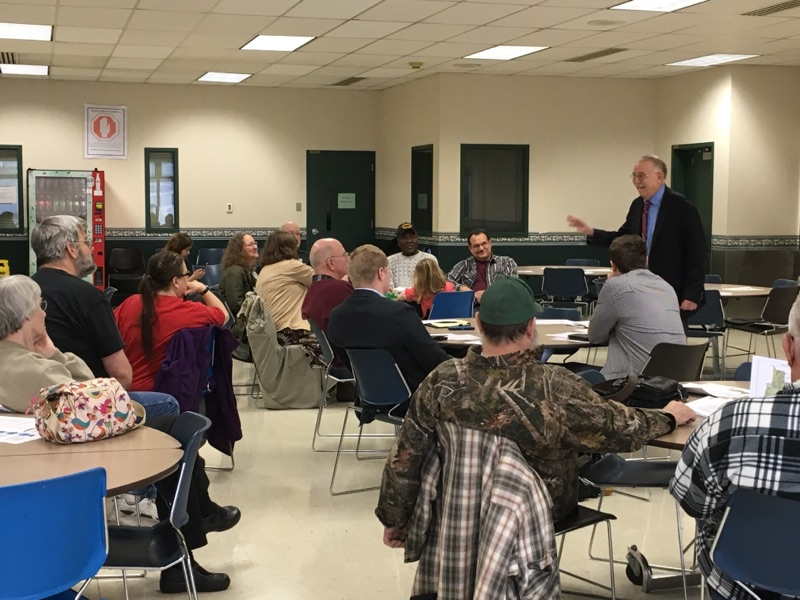 Constituents shared priorities and concerns at Conway town hall