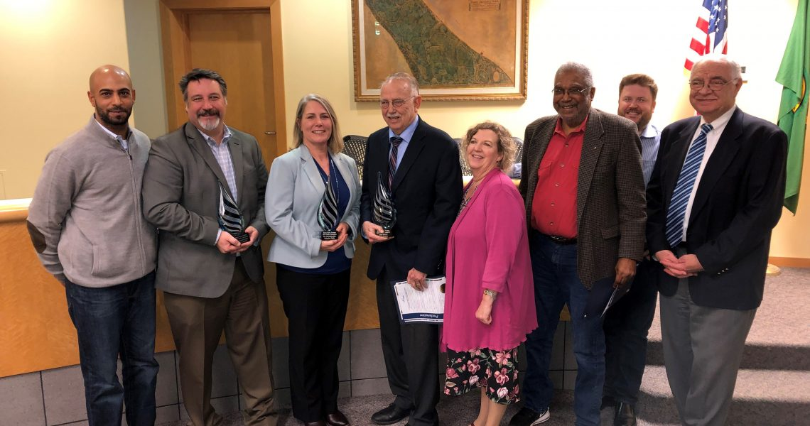 Conway honored for support of Eastside Community Center