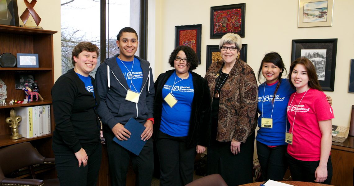 Darneille meets with Planned Parenthood Teen Council