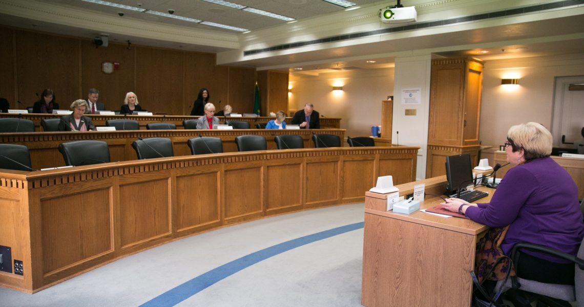 Five bill hearings in 90 minutes!