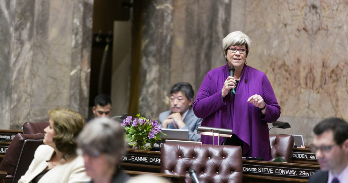 """Darneille: """"This has been a historic legislative session"""""""