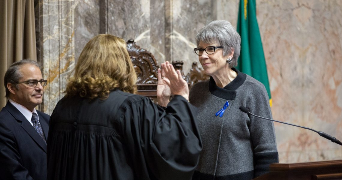 Darneille sworn in to serve second term