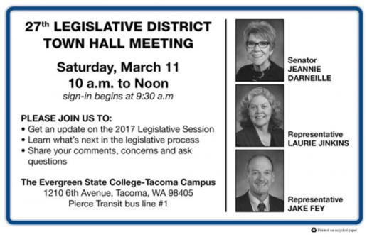 Town Hall Meeting, Sat. March 11