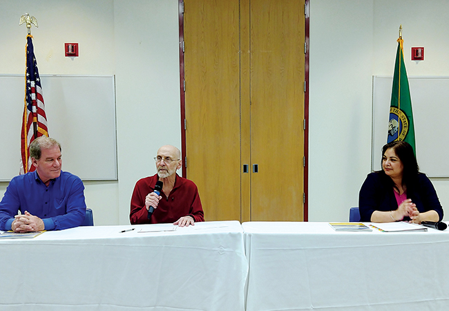 Legislators Discuss Major Policies in 45th District Town Hall