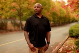 Freedom Project's Orlando Ames' third strike was an assault conviction. He was granted clemency after 21 years in prison and now helps others who are leaving prison. (Erika Schultz / The Seattle Times)