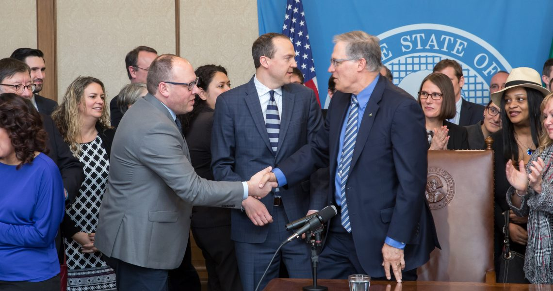 Inslee announces five carriers intend to participate in public option