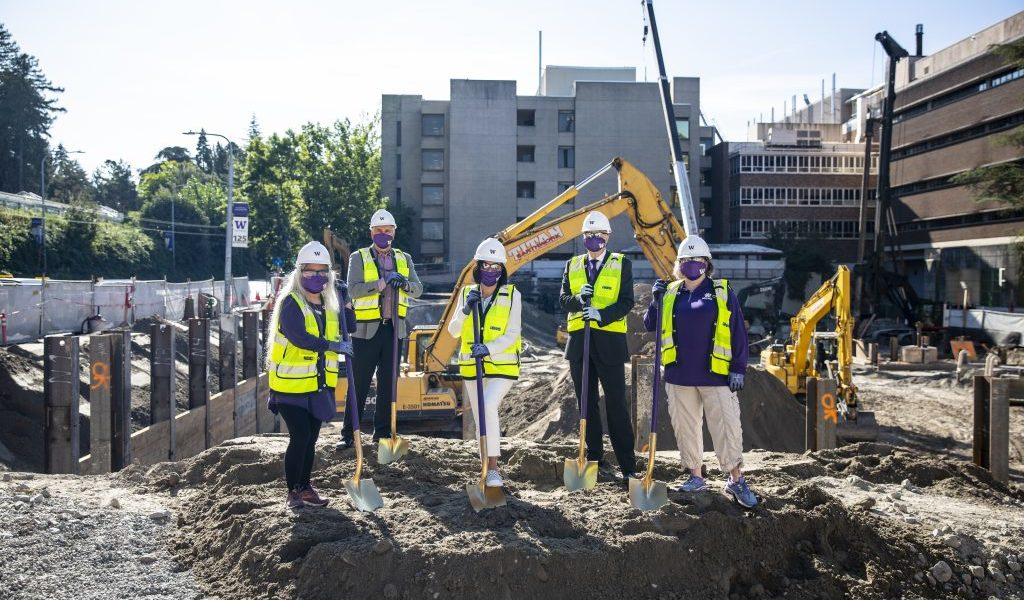 UW breaks ground on the future of health sciences education and improving our health