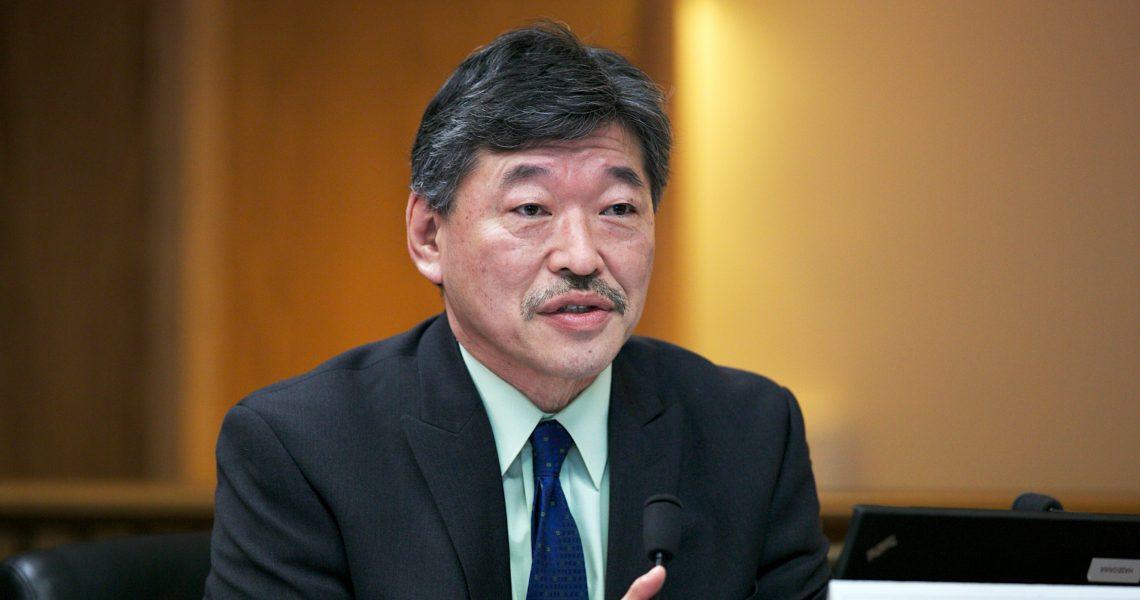 Hasegawa shepherds voting rights bill toward Senate floor