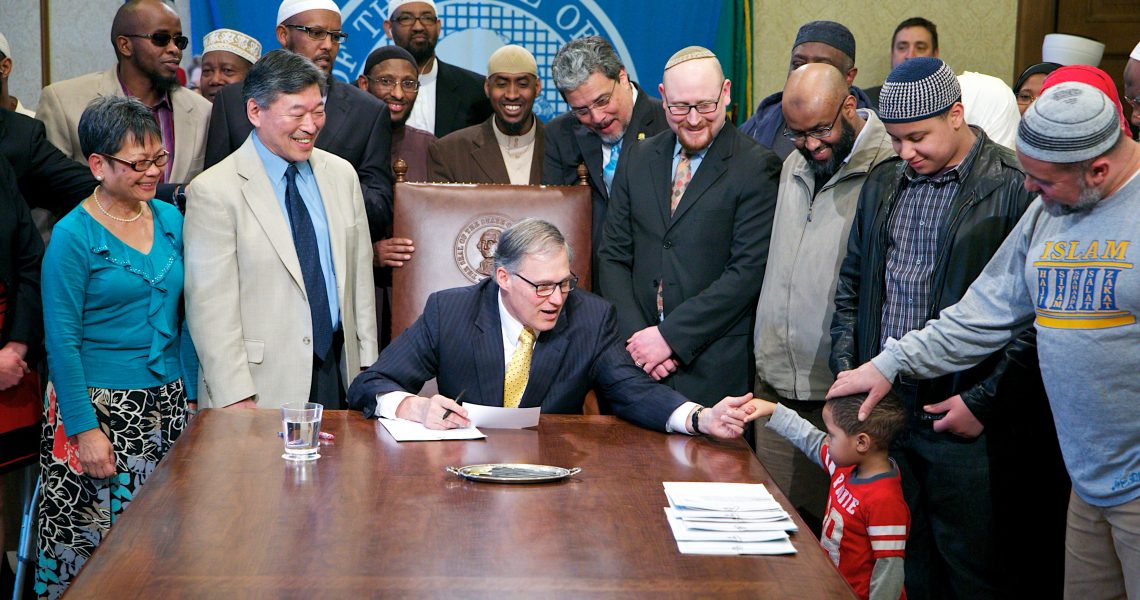 Hasegawa's 'days of faith' bill signed into law
