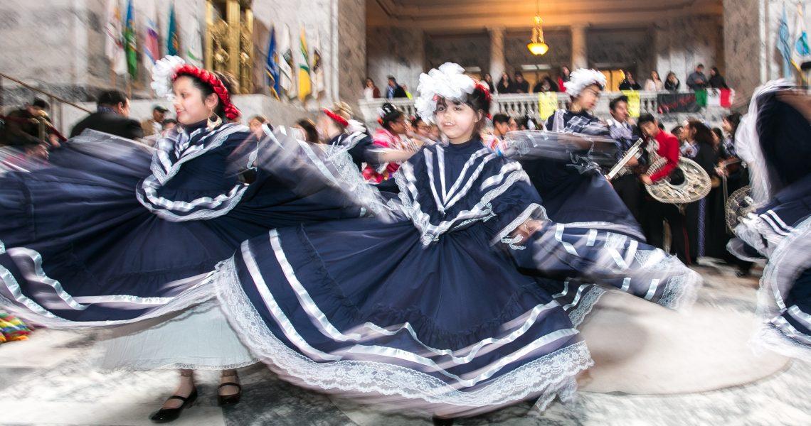 Hasegawa speaks on Latino Legislative Day