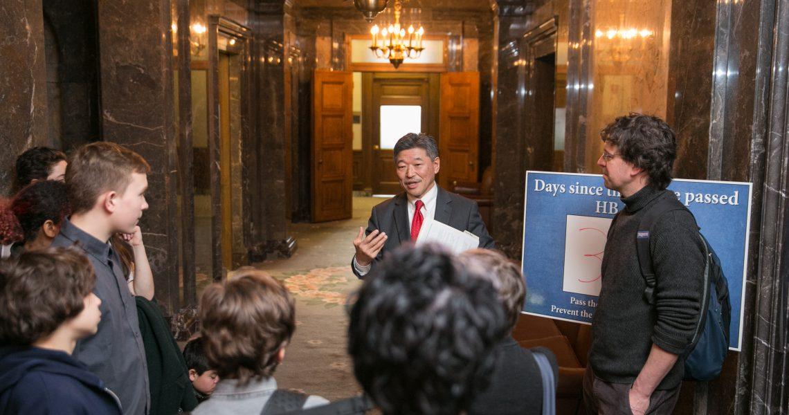 Senate passes Hasegawa bill to avoid institutional racism