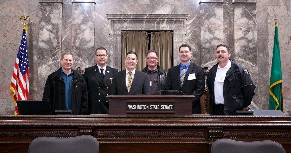 Sen. Hobbs meets with Washington Fire Chiefs and Fire Commissioners