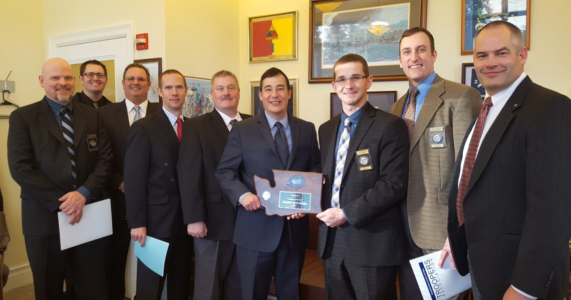 Hobbs named State Patrol's Legislator of the Year