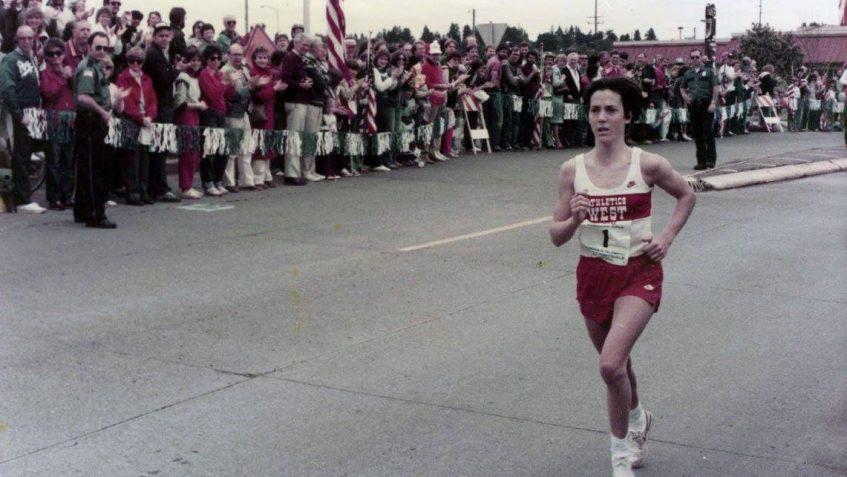 Joan Benoit Photo Courtesy of Washington State Archive