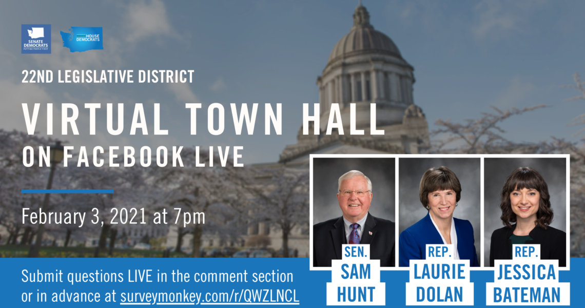 Virtual Town Hall, COVID Relief, and How To Participate: Session 2021