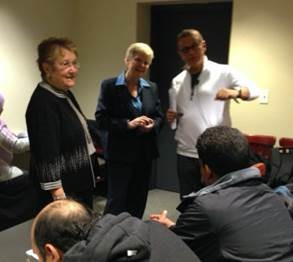 Foreign journalists see Legislature firsthand