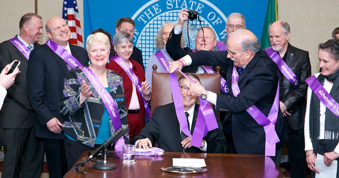 Keiser legislation to create Alzheimer's plan signed into law