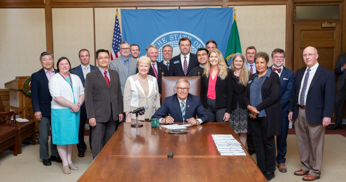 Keiser legislation to create additional commercial airport capacity signed by Governor Inslee.