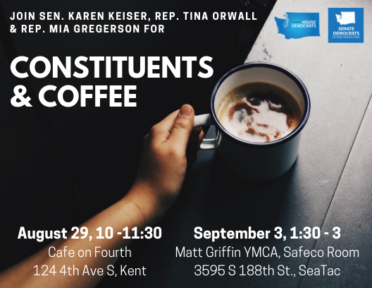 33rd LD Delegation to host coffee hours