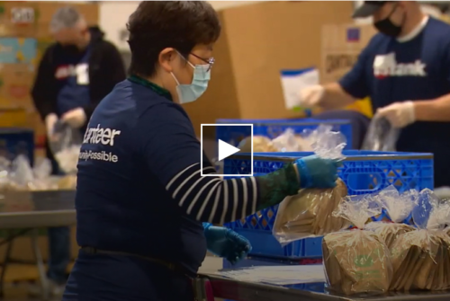 The impacts of COVID have forced them to rely on a food bank, shelter and meal programs has put a huge demand on area food banks who are desperate for donations and volunteers. (KOMO)