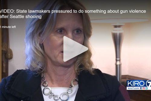 Sen. Patty Kuderer KIRO 7 gun legislation interview
