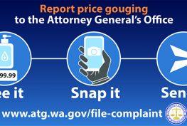 WA AG: Price Gouging
