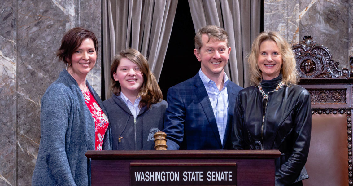 Newsweek: Washington State Senate Passes Bill Officially Recognizing 'Jeopardy!' Champ Ken Jennings For His Achievements