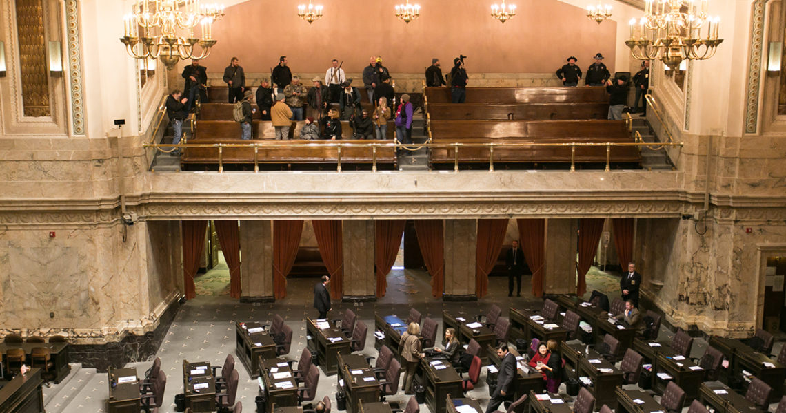 AP: State Senate approves open carry ban at Capitol in Olympia