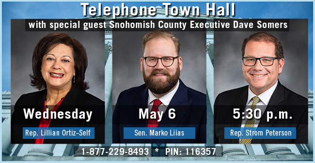 MEDIA ADVISORY: 21st District Telephone Town Hall on Wednesday, May 6 @ 5:30 p.m.