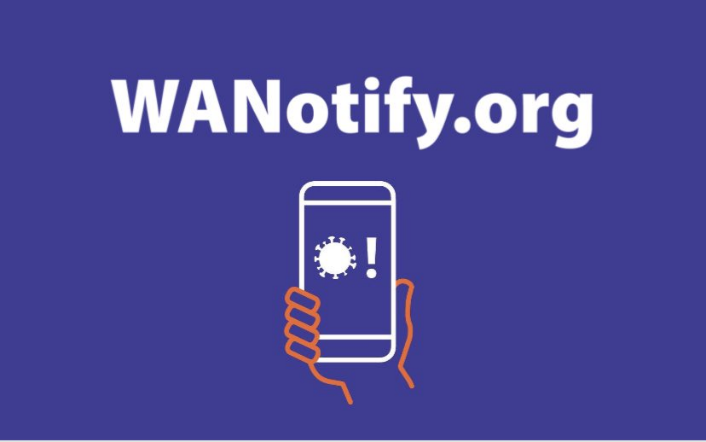 WA Notify: Coronavirus Smartphone Notifications
