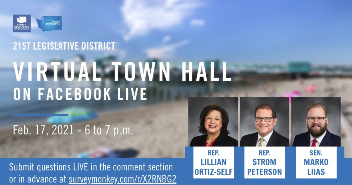 MEDIA ADVISORY: 21st Lawmakers to host Virtual Town Hall
