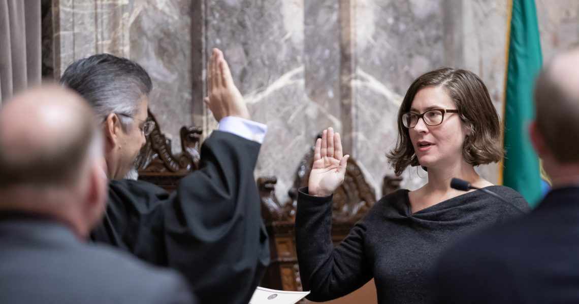 Lovelett brings 40th district focus to the Senate