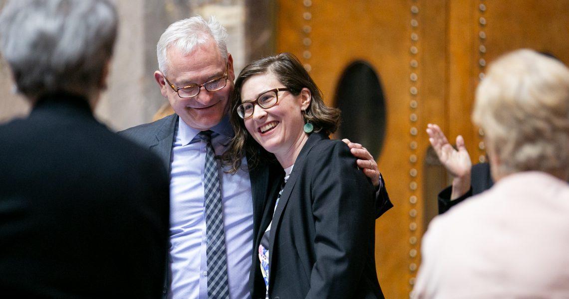 Senate passes commitment to 100 percent clean energy