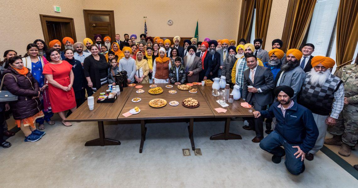 Washington Senate honors Sikhs, passes stronger hate crimes legislation