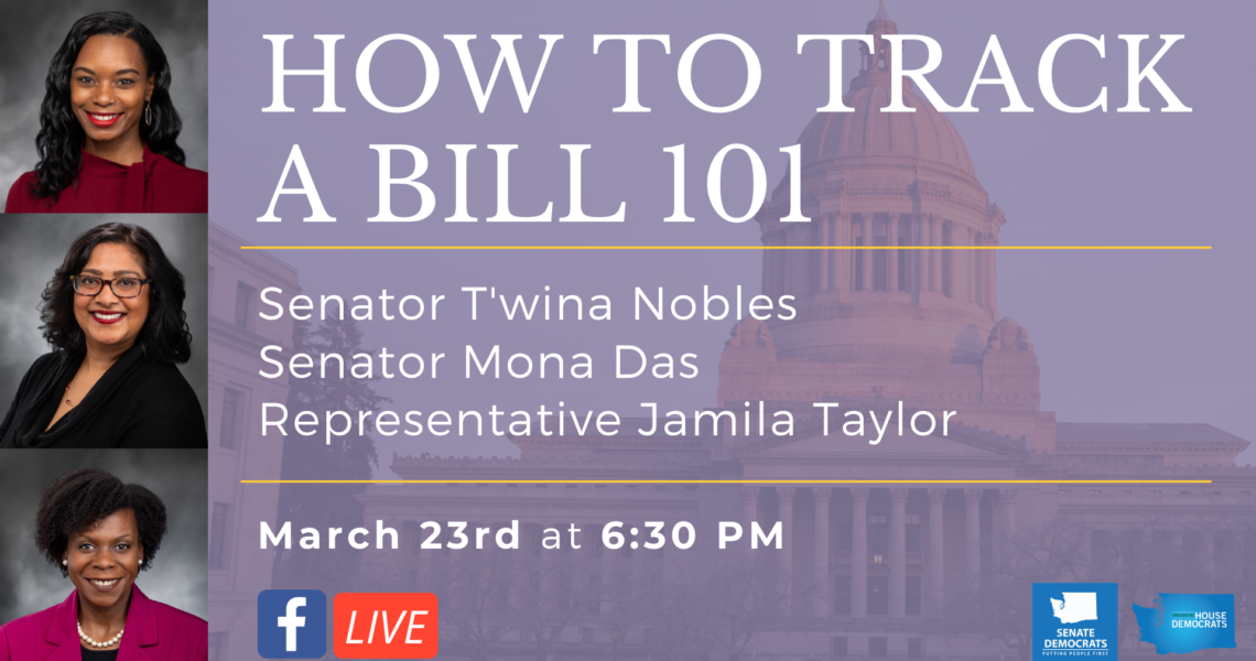 JOIN TONIGHT: Live on Facebook with Sen. Nobles