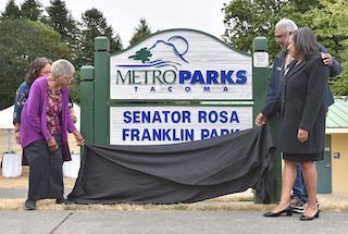 NewsOne: Washington State's First Black Woman Senator Rosa Franklin Has Park Named In Her Honor