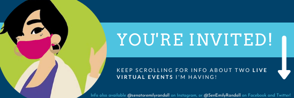 E-news: You're invited! - Join me for TWO upcoming Live events