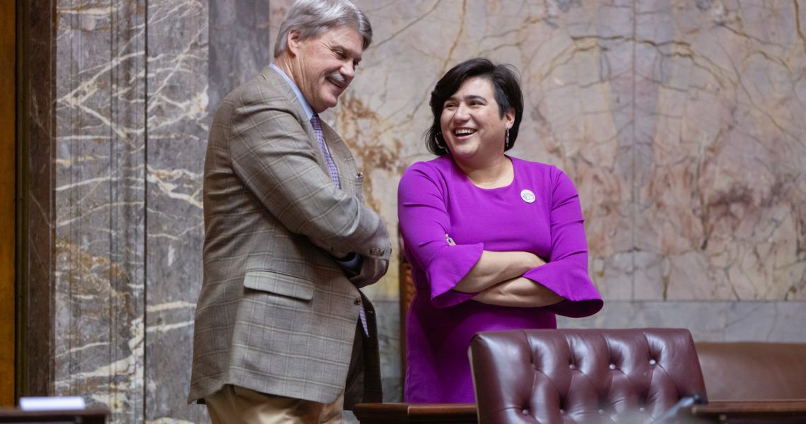 """Sen. Randall & Sen. Sheldon: """"The gridlock in Gorst will not be solved by gridlock at the legislature"""""""