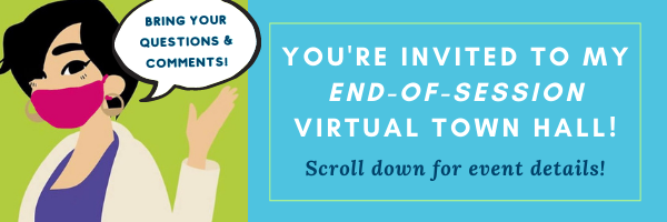 E-news: YOU'RE INVITED - 5/22, 11am-12pm, Virtual Town Hall!