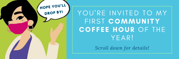 E-news: July 14 Community Coffee Hour in Gig Harbor - You're invited!