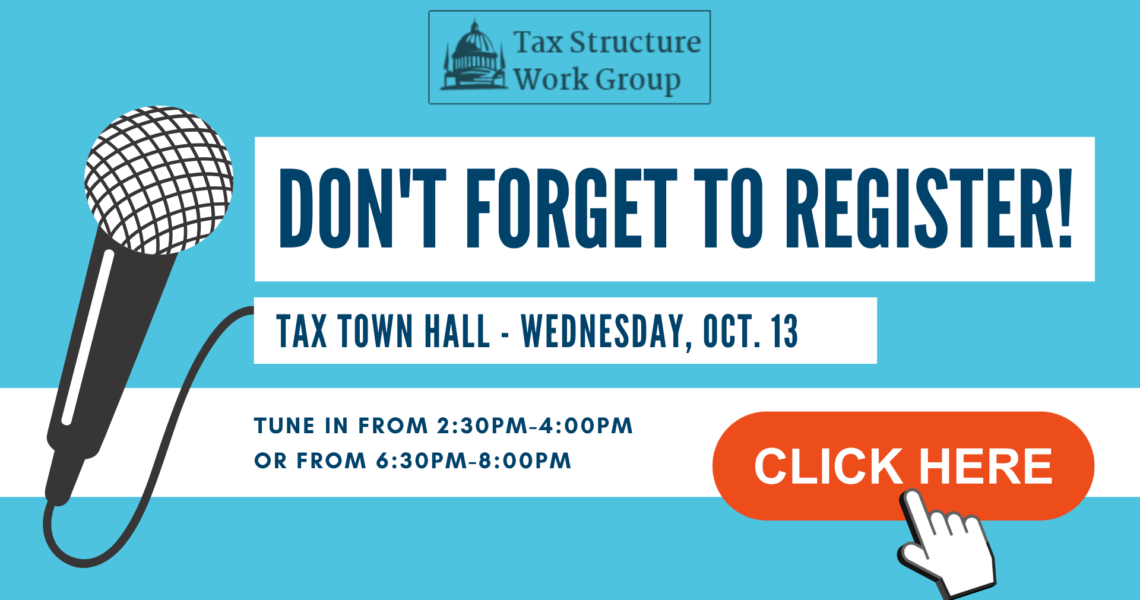 E-news: Smart investments, equitable revenue, and a chance to weigh in on taxes