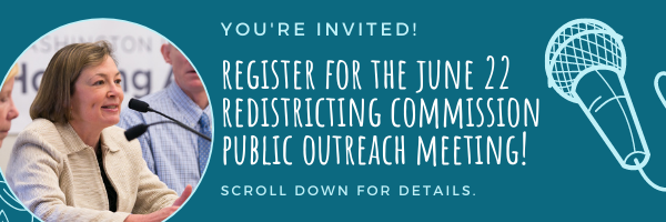 E-news: Make your voice heard at the next Redistricting Commission Public Outreach Meeting!