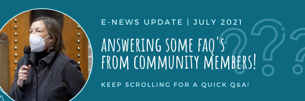 E-news: Answering your questions!